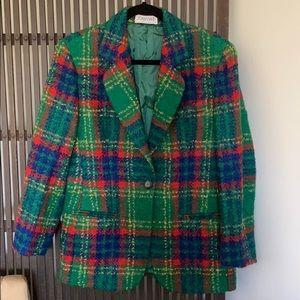 Joan and David wool jacket
